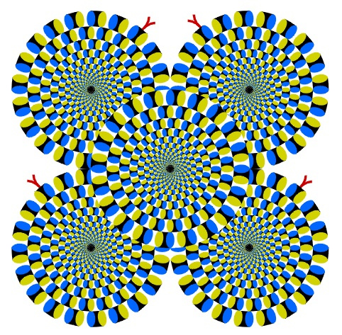 Visual illusion