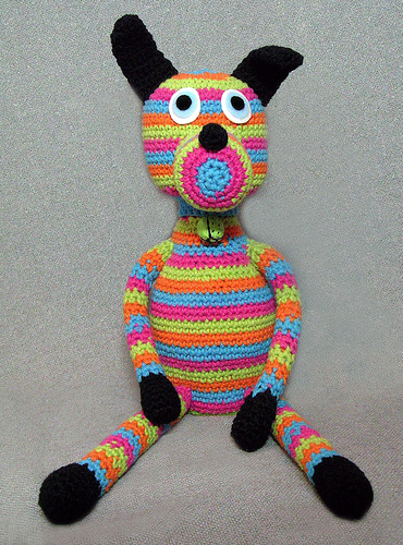 Sammy crochet dog
